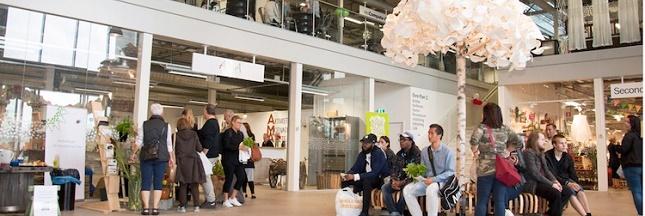 ReTuna Återbruksgalleria : la galerie commerciale 100 % recyclage en Suède