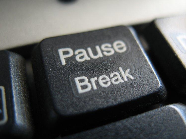 Mode pause