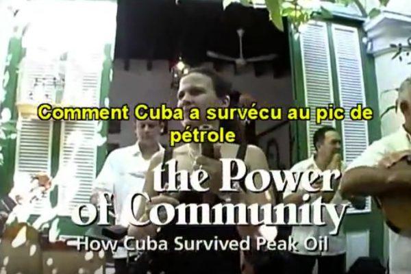«Comment Cuba survécut au pic de pétrole» (…. et pas nous?)